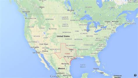 texas  map  usa