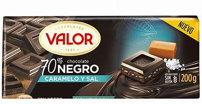 Chocolate Sal Caramelo Negro Valor Productos Tabletas