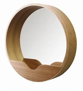 miroir salle de bain le guide ultime With miroir salle de bain rond bois