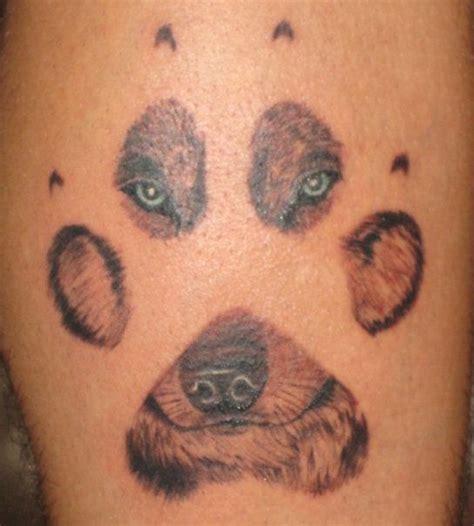 Tatto Paw Print Tattoos