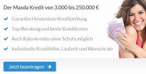 Kredit 500 Euro : maxda kredit ohne schufa test konditionen im check ~ Kayakingforconservation.com Haus und Dekorationen