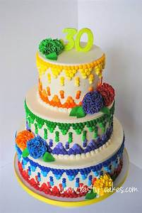 Wicked Mexican Birthday Cake - CakeCentral com