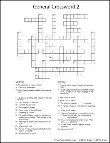 Hard Printable Crossword Puzzles