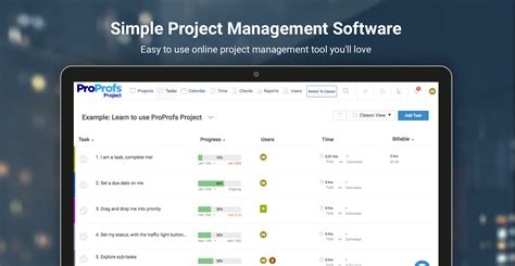 project management software proprofs