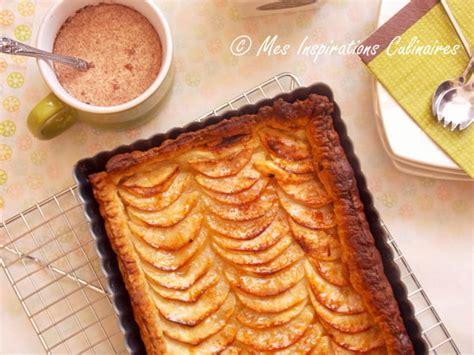 tarte aux pommes 224 la p 226 te feuillet 233 e le