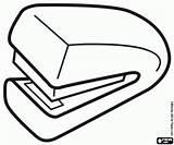 Stapler Manual Paper sketch template