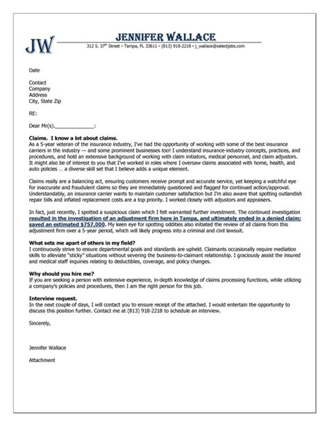 insurance sales resume cover letter insurance cover letter exle