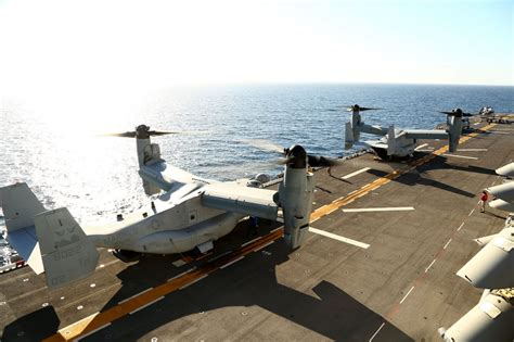 Flight Deck Island by Dvids Images Uss Makin Island Flight Deck Operations