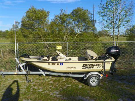 Carolina Skiff Guide Boat by Carolina Skiff Skiff Stick Steer Boats For Sale