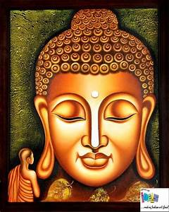 Buddha Painting by Famous Indian Artist / Indian Art ...