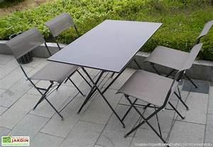 Salon De Jardin Pliant : emejing table de salon de jardin pliante photos amazing ~ Dailycaller-alerts.com Idées de Décoration