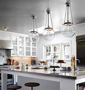 Glass pendant lights over kitchen island : Clear glass pendant lights for kitchen island uk home