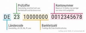 Kontonummer Aus Iban Berechnen : iban rechner generator iban nummer berechnen ~ Themetempest.com Abrechnung