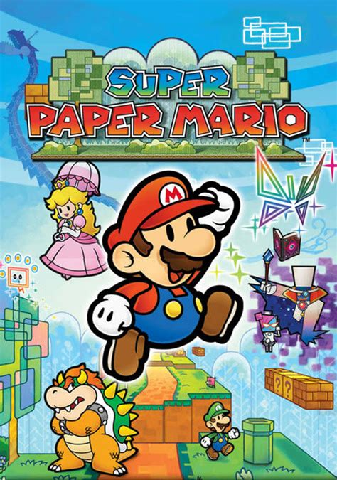 super paper mario characters giant bomb