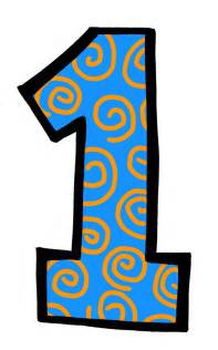 Number 1 Clip Art