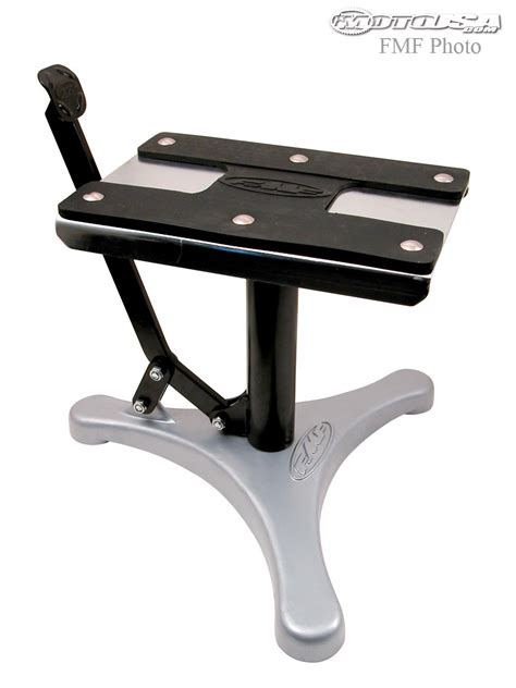 motocross bike stand fmf step up bike stand review motorcycle usa