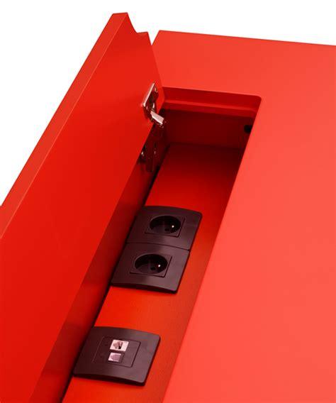 pied de bureau r lable le bureau connecté en couleurs co pied mobilier les