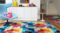 colorful area rugs 15 Funky and Colorful Area Rugs | Home Design Lover