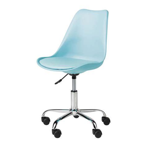 maison du monde chaise de bureau chaise de bureau bleue bristol maisons du monde