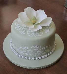 magnolia bridal shower cake cakecentralcom With images of wedding shower cakes
