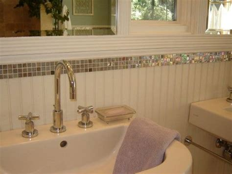Beadboard And Tile Bathroom by Before After A Small Bathroom Gets A Big Makeover