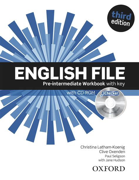 решебник pre-intermediate english oxford file workbook
