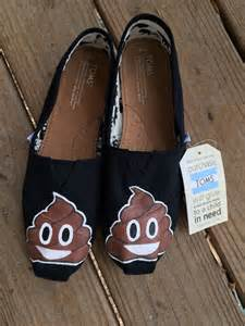 Poop Emoji Shoes Toms Custom Shoes