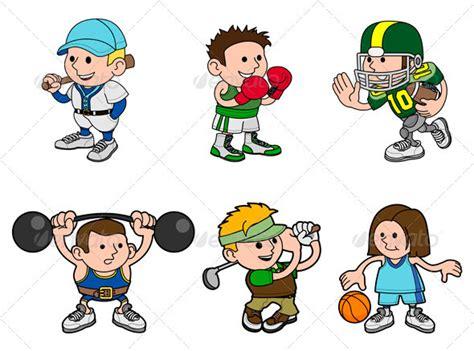 Cartoon Sports Characters By Krisdog