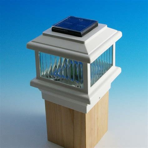 solar deck cap lights solar deck lights lowes lowes solar post cap lights part