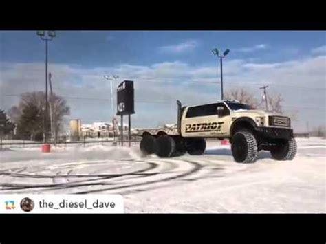 diesel brothers super six ford f550 6 wheel drive rear steer sema 2015 doovi