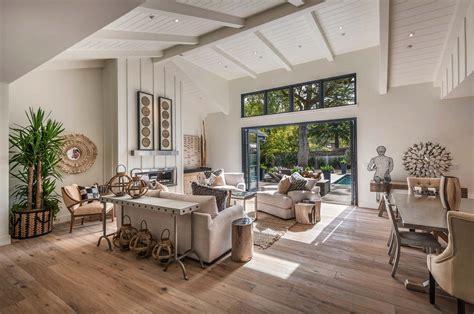 kitchen island small breathtaking modern farmhouse style retreat in napa valley