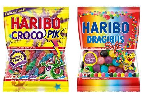 les ustensiles de cuisine haribo porte le violet chez les dragibus et les croco pik