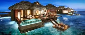 Haus Im Wasser : berwasser bungalows in der karibik ~ Watch28wear.com Haus und Dekorationen
