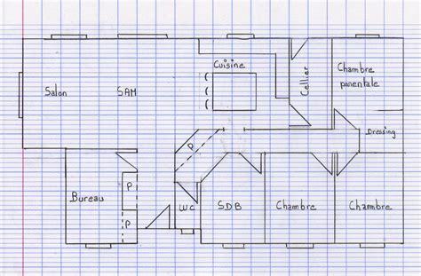 faire un plan de chambre comment dessiner un plan de maison