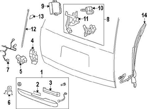 Gmc Yukon Part Diagram by 2013 Gmc Yukon Parts Gm Parts Department Buy Genuine Gm