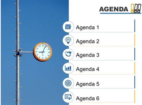 agenda template   icons image background