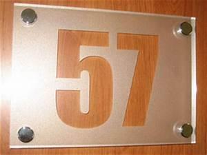 Plaque Numero De Rue : plaques num ro de rue numero de maison design contemporain ~ Melissatoandfro.com Idées de Décoration