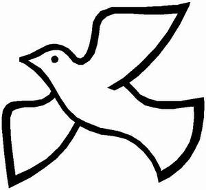Holy Spirit Dove Clipart Black And White | Clipart Panda ...