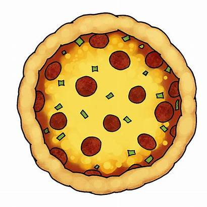Pizza Clipart Cliparts Toppings Pages Topping Half