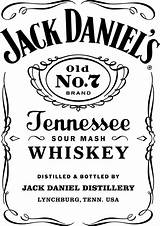 Bottle Jack Daniels Whiskey Label Clipart Nicepng Automatically Start Transparent Doesn Please If sketch template