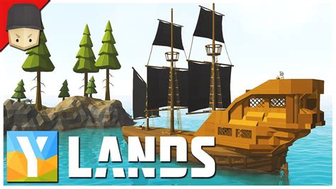 How To Make A Boat Ylands by Ylands The Pirate Ship Ep 16 Survival Crafting