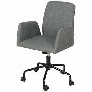Chaise De Bureau : chaise de bureau sur roulettes chaises tabourets matelas canac ~ Teatrodelosmanantiales.com Idées de Décoration