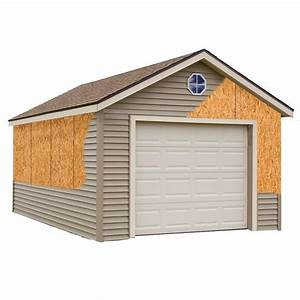 best barns greenbriar 12 ft x 16 ft prepped for vinyl With 18 x 24 garage kit