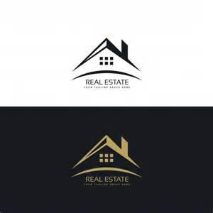 kostenlos logo design logo design für immobilien der kostenlosen vektor
