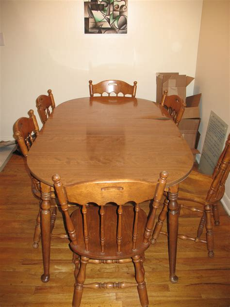 craigslist dining table and chairs stocktonandco