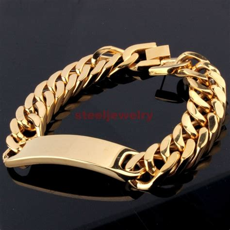 arrive silvergold stainless steel mens high quality