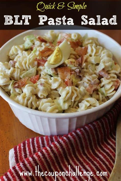 basic pasta salad recipe quick simple pasta salad recipe