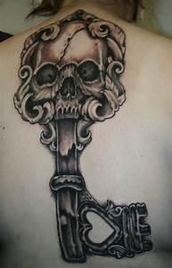 144 Ingenious Key Tattoos