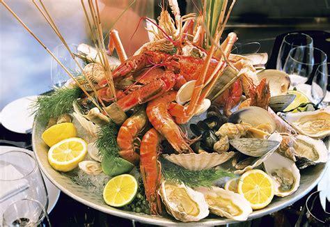la cuisine de la mer buffet de la mer restaurant la table du cantemerle à vence