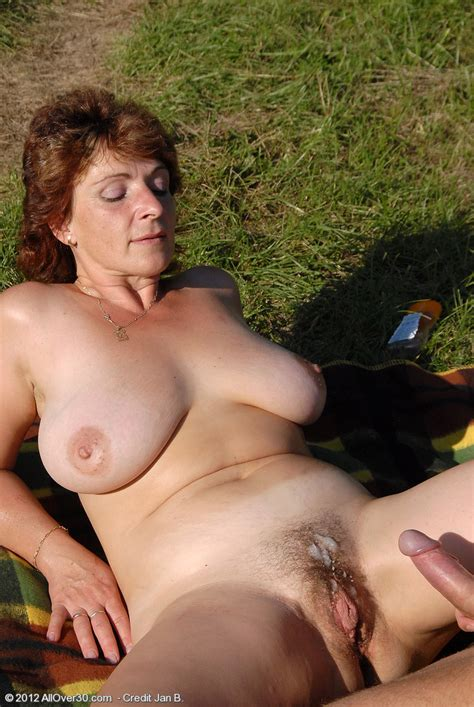 busty milf her mature pussy plugged outdoors all over 30 free gorgeous older women pictures